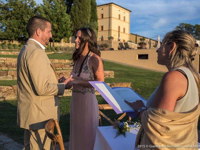 Il matrimonio di Brent e Danielle a Casole d'Elsa, Siena 18