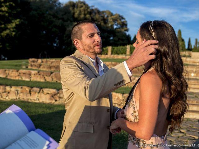 Il matrimonio di Brent e Danielle a Casole d'Elsa, Siena 19