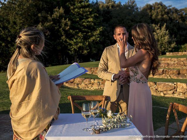 Il matrimonio di Brent e Danielle a Casole d'Elsa, Siena 22