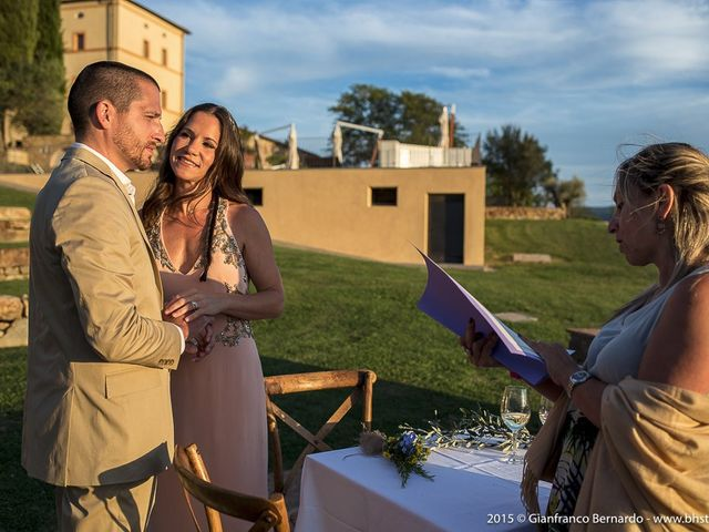Il matrimonio di Brent e Danielle a Casole d'Elsa, Siena 23
