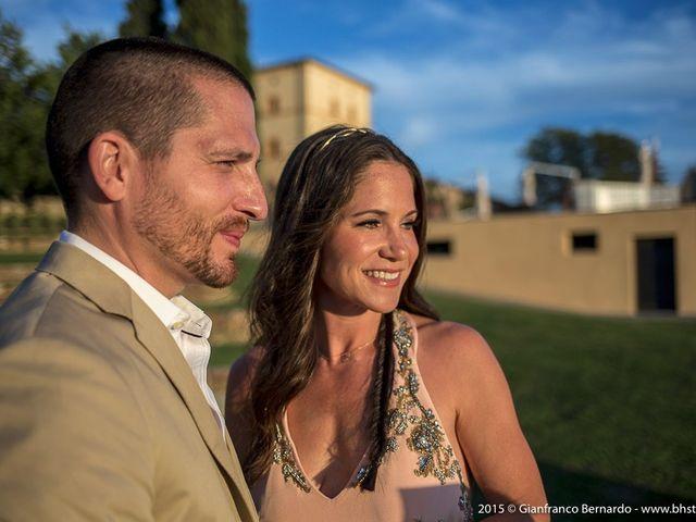 Il matrimonio di Brent e Danielle a Casole d'Elsa, Siena 24