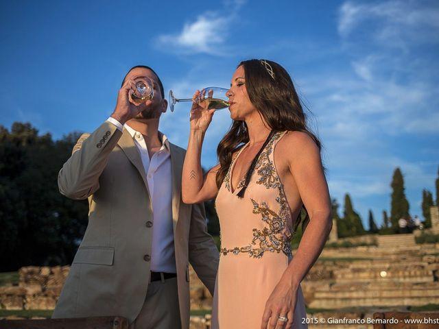 Il matrimonio di Brent e Danielle a Casole d'Elsa, Siena 32