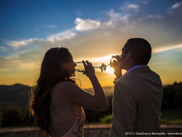 Il matrimonio di Brent e Danielle a Casole d'Elsa, Siena 33