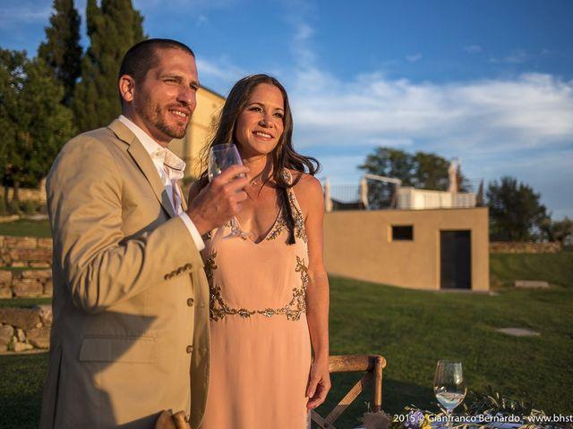 Il matrimonio di Brent e Danielle a Casole d'Elsa, Siena 34