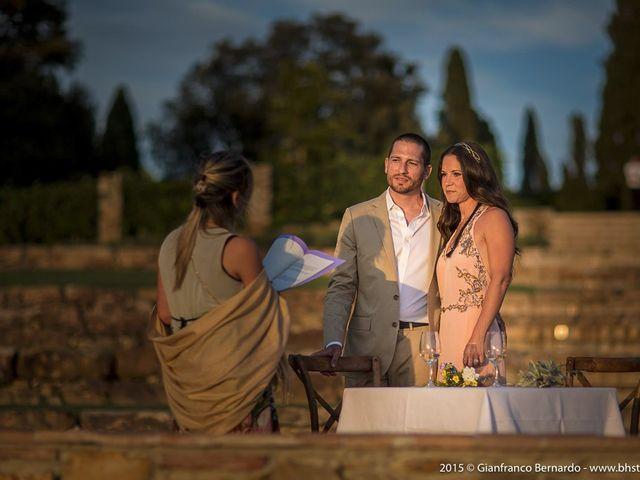 Il matrimonio di Brent e Danielle a Casole d'Elsa, Siena 35