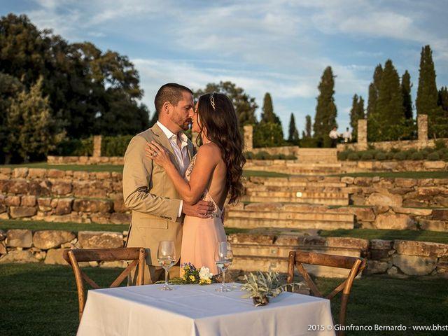 Il matrimonio di Brent e Danielle a Casole d'Elsa, Siena 36