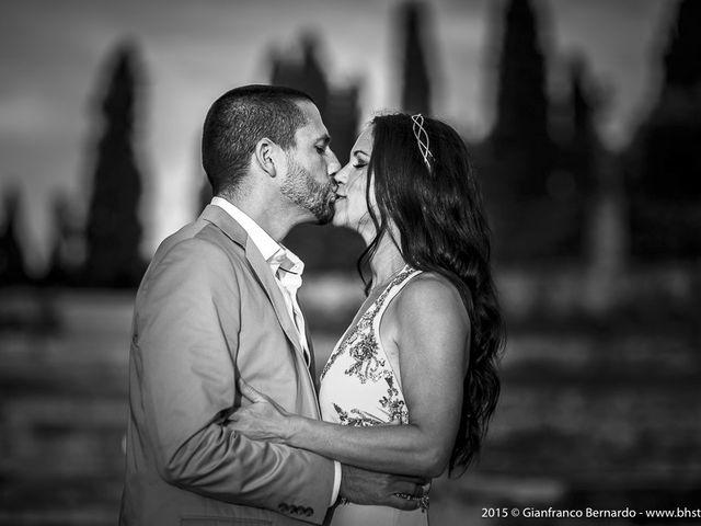 Il matrimonio di Brent e Danielle a Casole d'Elsa, Siena 37