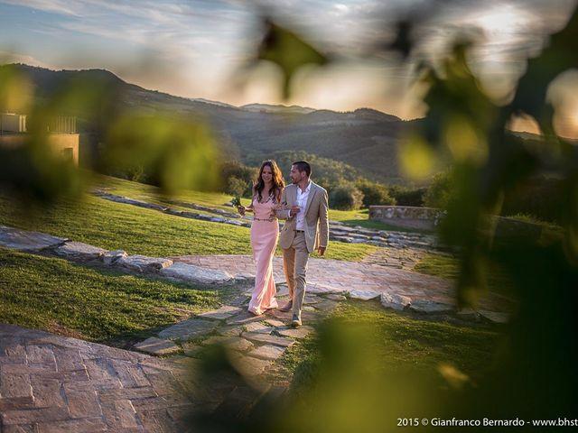 Il matrimonio di Brent e Danielle a Casole d'Elsa, Siena 42