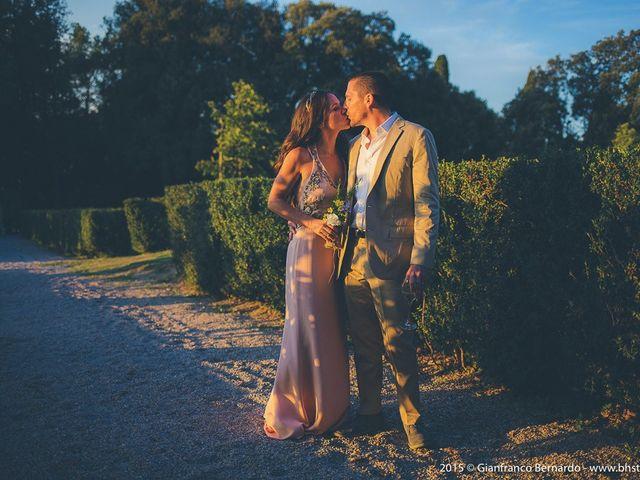 Il matrimonio di Brent e Danielle a Casole d'Elsa, Siena 43