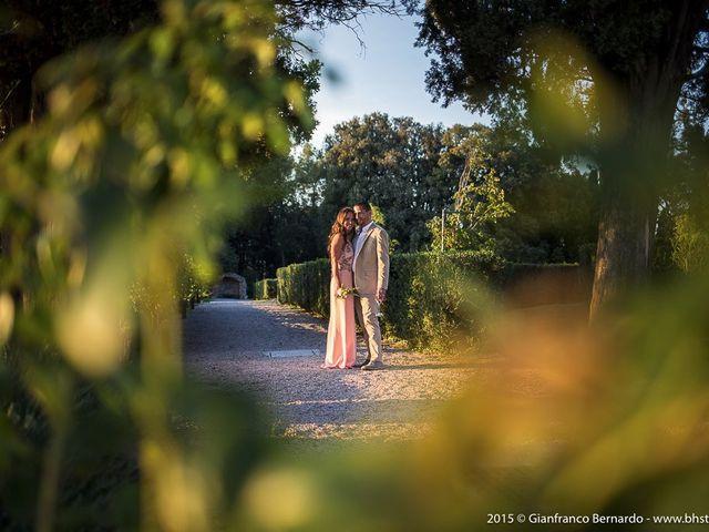 Il matrimonio di Brent e Danielle a Casole d'Elsa, Siena 44