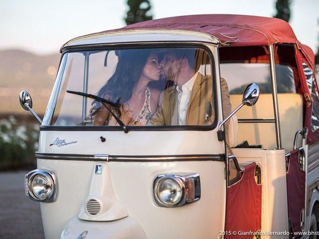Il matrimonio di Brent e Danielle a Casole d'Elsa, Siena 49