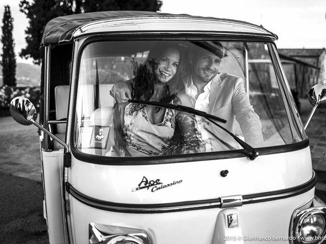 Il matrimonio di Brent e Danielle a Casole d'Elsa, Siena 50
