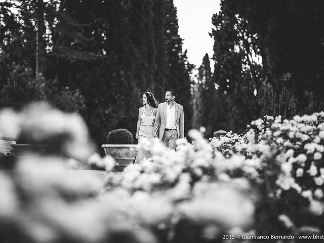 Il matrimonio di Brent e Danielle a Casole d'Elsa, Siena 53