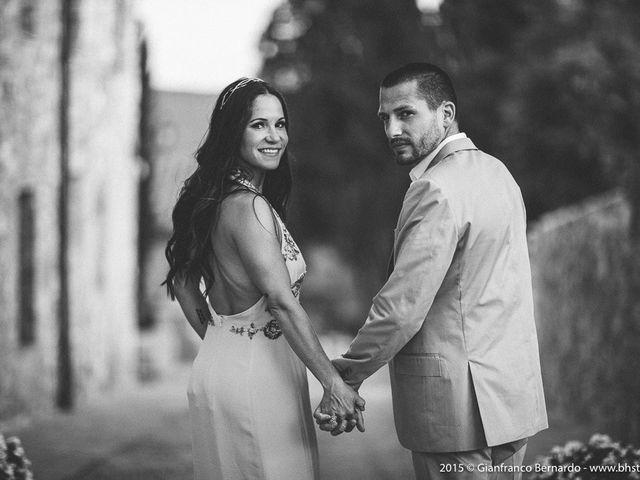 Il matrimonio di Brent e Danielle a Casole d'Elsa, Siena 58