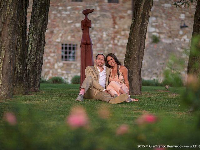 Il matrimonio di Brent e Danielle a Casole d'Elsa, Siena 60