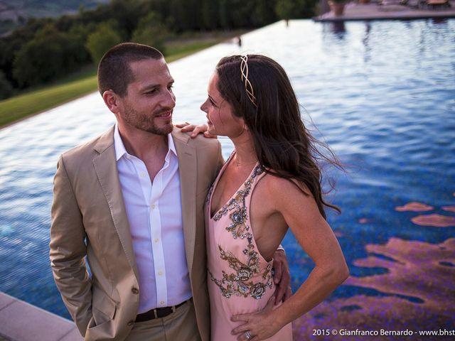 Il matrimonio di Brent e Danielle a Casole d'Elsa, Siena 64