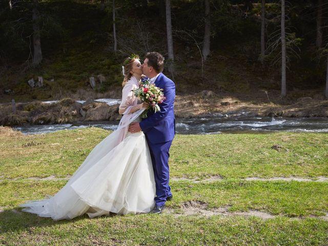 Il matrimonio di Yuri e Martina a Vermiglio, Trento 1