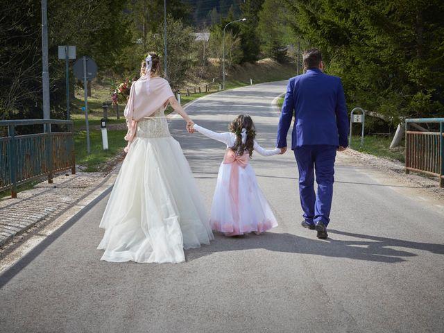 Il matrimonio di Yuri e Martina a Vermiglio, Trento 3