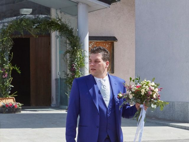 Il matrimonio di Yuri e Martina a Vermiglio, Trento 9