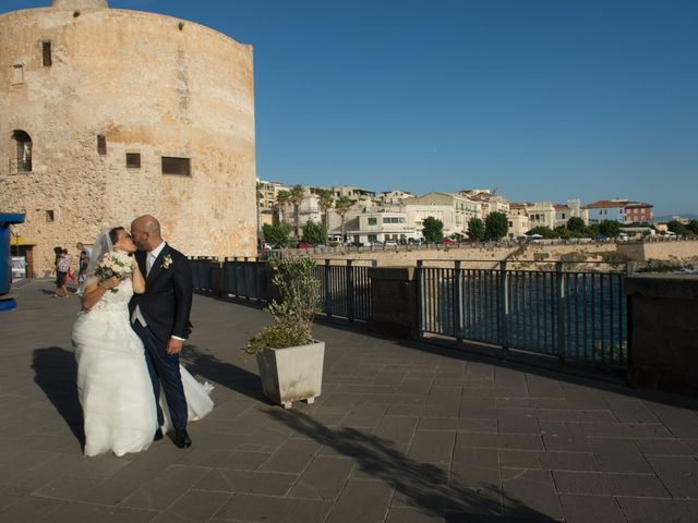 Il matrimonio di Marco e Francesca a Alghero, Sassari 124