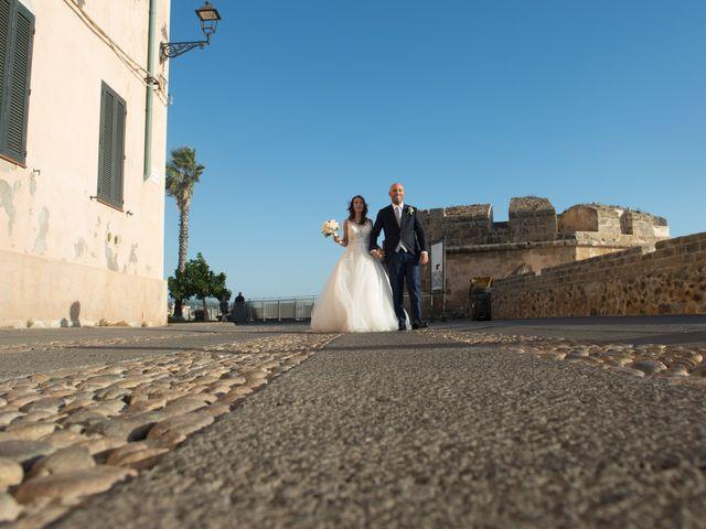 Il matrimonio di Marco e Francesca a Alghero, Sassari 142
