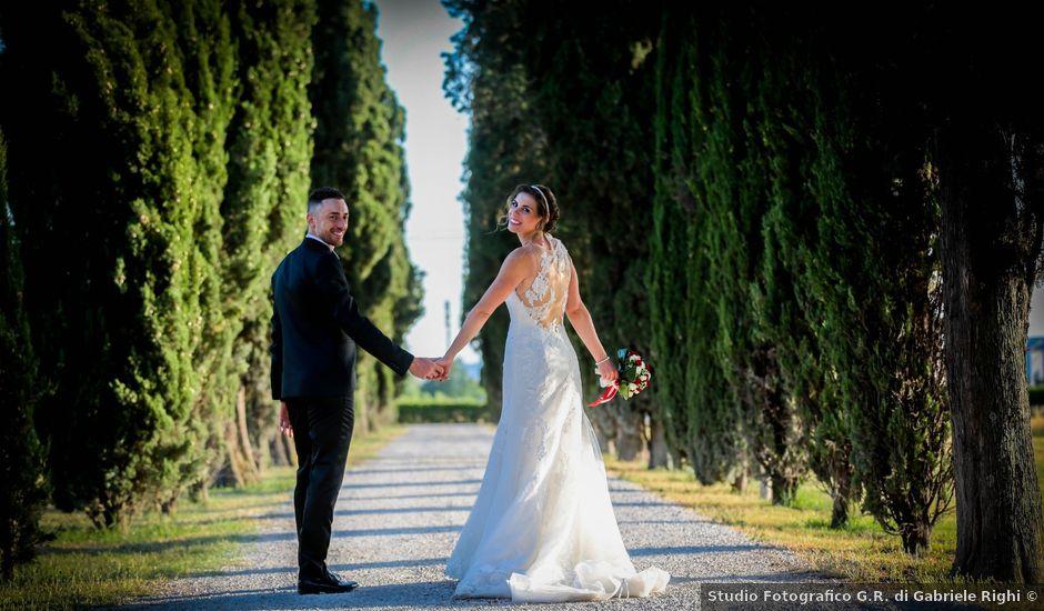 Il matrimonio di Michele e Sara a Campi Bisenzio, Firenze