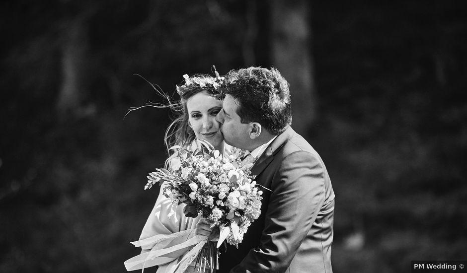 Il matrimonio di Yuri e Martina a Vermiglio, Trento