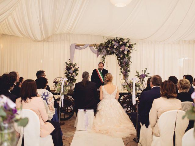 Il matrimonio di Cristian e Genny a Bevilacqua, Verona 35