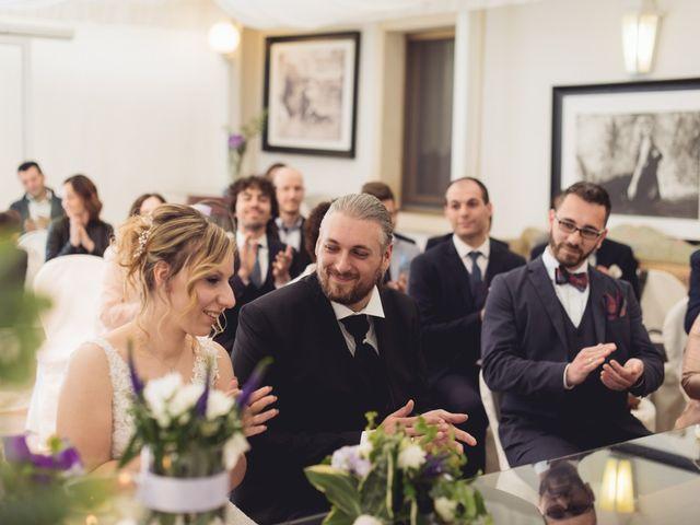 Il matrimonio di Cristian e Genny a Bevilacqua, Verona 37