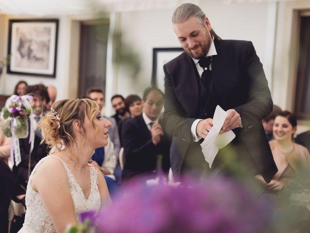 Il matrimonio di Cristian e Genny a Bevilacqua, Verona 40