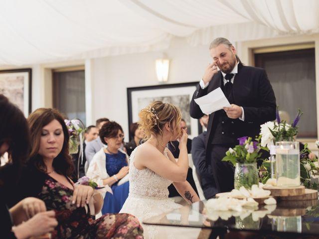 Il matrimonio di Cristian e Genny a Bevilacqua, Verona 42