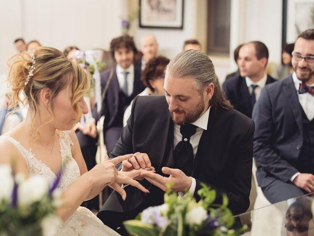 Il matrimonio di Cristian e Genny a Bevilacqua, Verona 46