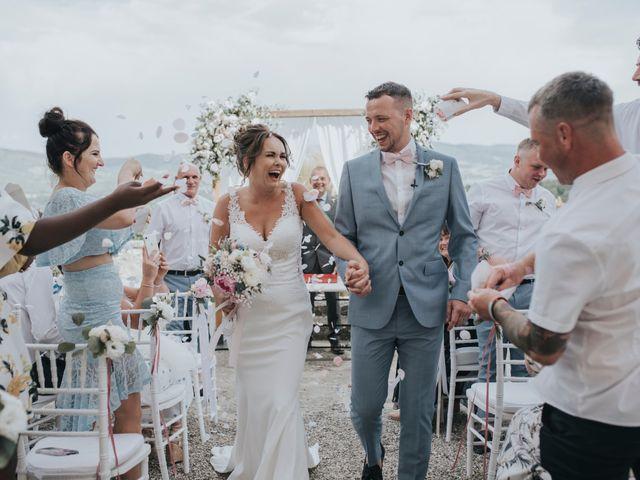 Le nozze di Michelle e Samuel