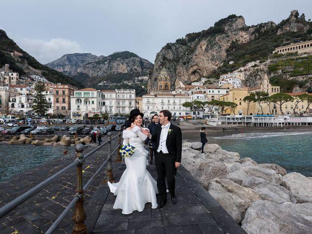 Il matrimonio di Carmine e Alessia a Amalfi, Salerno 20