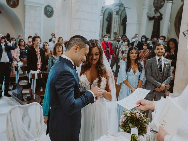 Il matrimonio di Vinicio e Ilaria a Tocco da Casauria, Pescara 31
