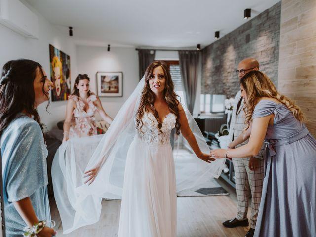 Il matrimonio di Vinicio e Ilaria a Tocco da Casauria, Pescara 107