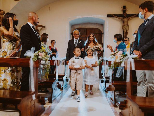 Il matrimonio di Vinicio e Ilaria a Tocco da Casauria, Pescara 115