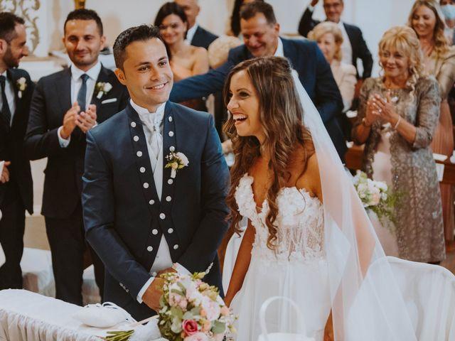 Il matrimonio di Vinicio e Ilaria a Tocco da Casauria, Pescara 125