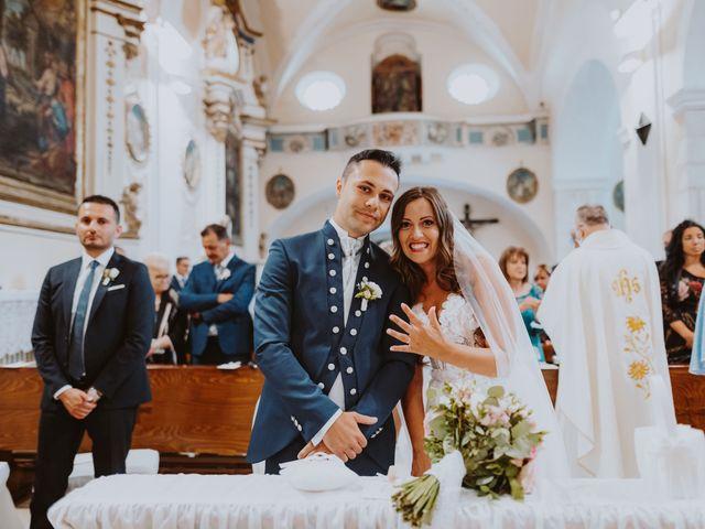 Il matrimonio di Vinicio e Ilaria a Tocco da Casauria, Pescara 128