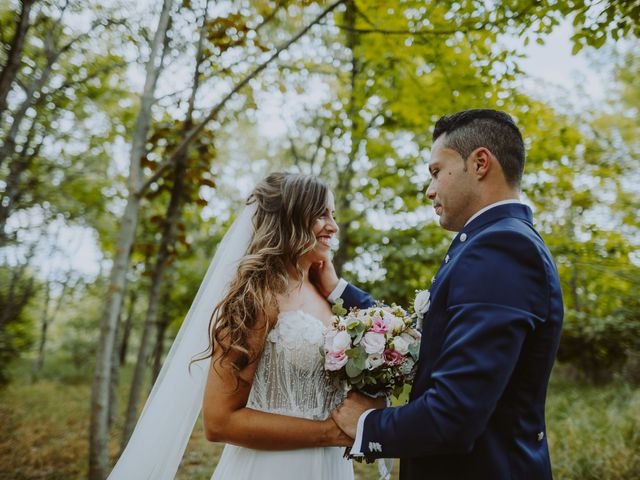 Il matrimonio di Vinicio e Ilaria a Tocco da Casauria, Pescara 133