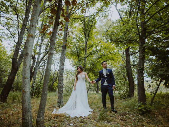 Il matrimonio di Vinicio e Ilaria a Tocco da Casauria, Pescara 138