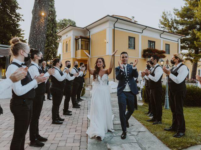 Il matrimonio di Vinicio e Ilaria a Tocco da Casauria, Pescara 185