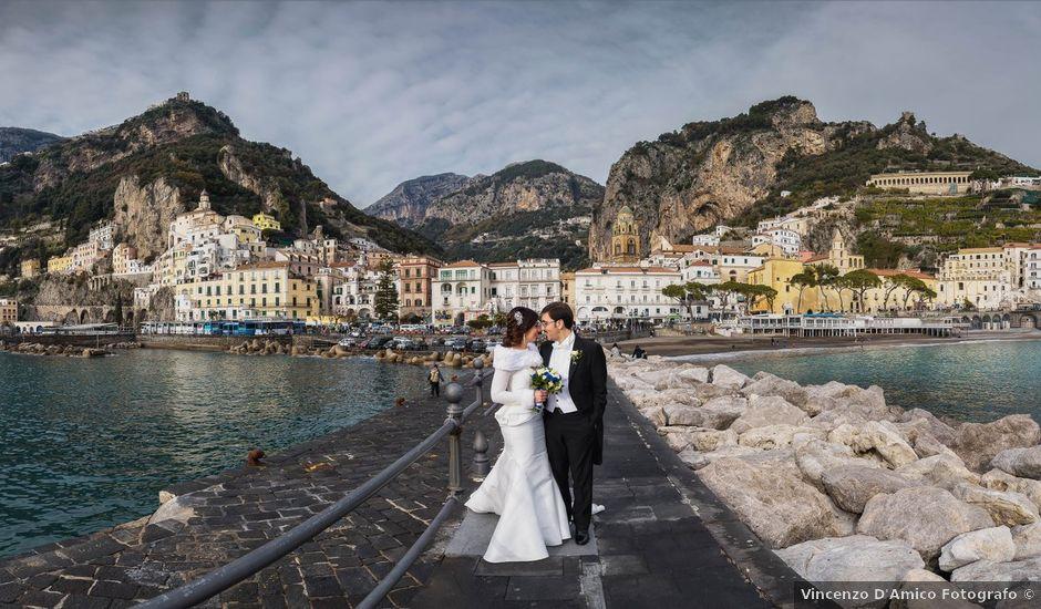Il matrimonio di Carmine e Alessia a Amalfi, Salerno