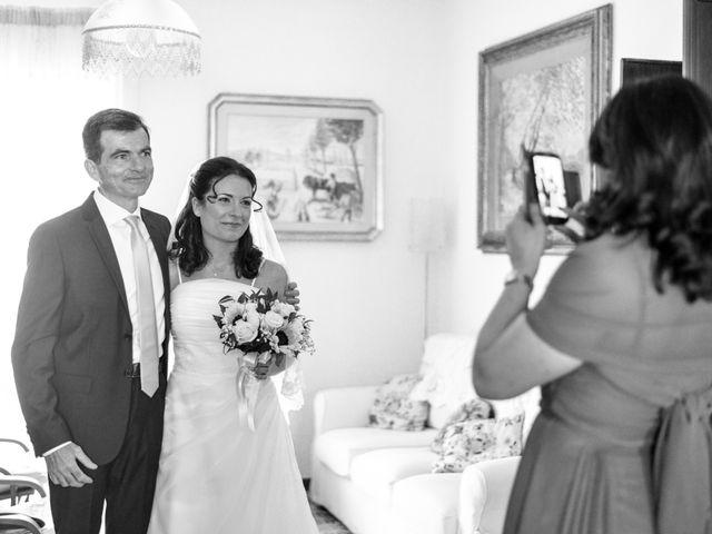 Il matrimonio di Luca e Francesca a Trevignano Romano, Roma 16