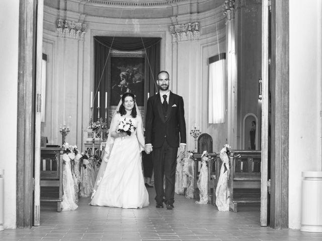Il matrimonio di Luca e Francesca a Trevignano Romano, Roma 33