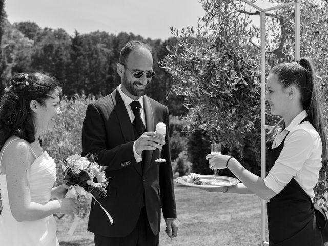 Il matrimonio di Luca e Francesca a Trevignano Romano, Roma 47