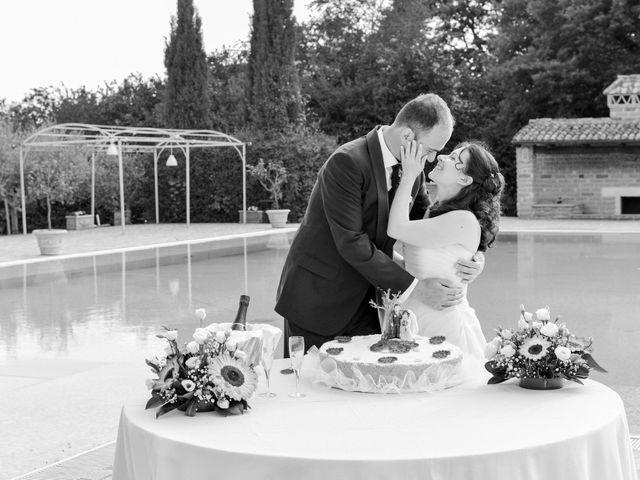 Il matrimonio di Luca e Francesca a Trevignano Romano, Roma 55