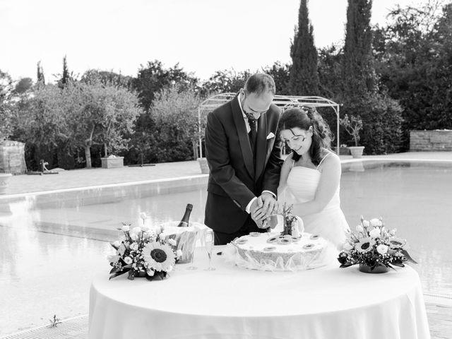 Il matrimonio di Luca e Francesca a Trevignano Romano, Roma 56