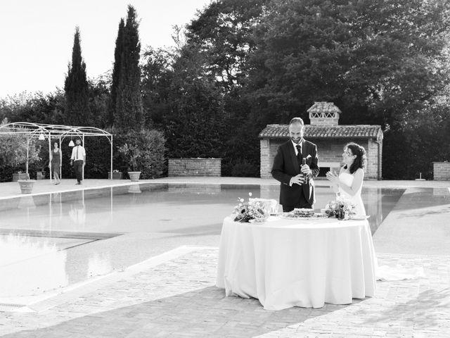 Il matrimonio di Luca e Francesca a Trevignano Romano, Roma 61