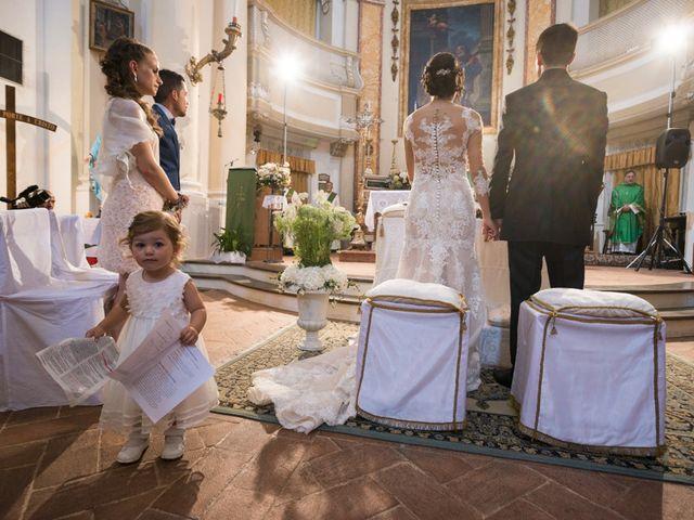 Il matrimonio di Francesco e Francesca a Belvedere Ostrense, Ancona 20